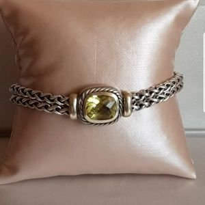 David Yurman Albion Lemon Citrine Bracelet